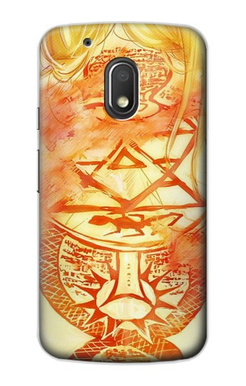 Printed Fullmetal Alchemist Riza Hawkeye Back Tattoo Motorola Droid Turbo 2 / X Force Case