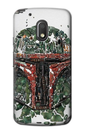 Printed Star War Soldier Motorola Droid Turbo 2 / X Force Case