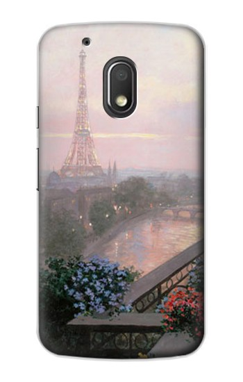Printed Terrace in Paris Eifel Motorola Droid Turbo 2 / X Force Case