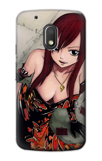 Printed Fairy Tail Erza Scarlet Motorola Droid Turbo 2 / X Force Case