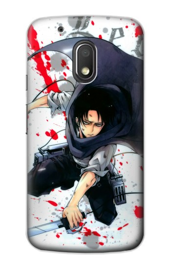 Printed Attack on Titan Rivaille Levi Motorola Droid Turbo 2 / X Force Case