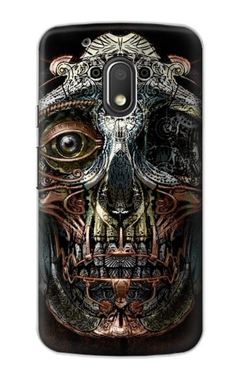 Printed Steampunk Skull Head Motorola Droid Turbo 2 / X Force Case