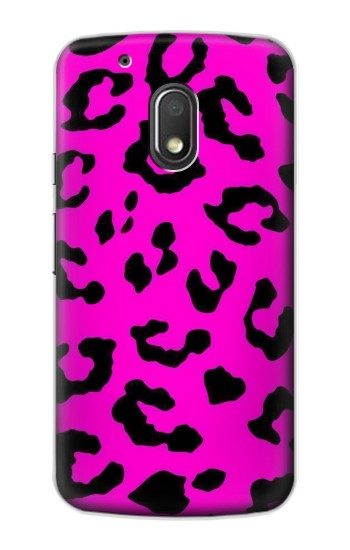 Printed Pink Leopard Pattern Motorola Droid Turbo 2 / X Force Case