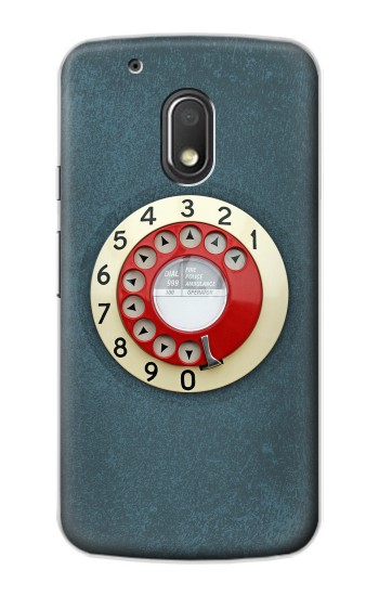 Printed Rotary Dial Telephone Motorola Droid Turbo 2 / X Force Case
