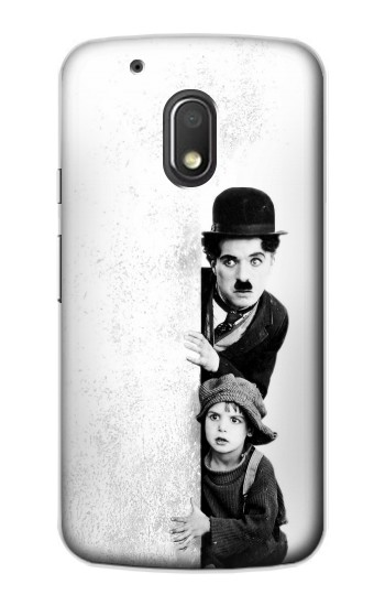 Printed Charlie Chaplin Motorola Droid Turbo 2 / X Force Case