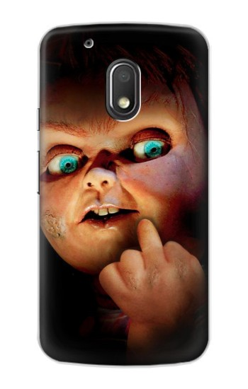 Printed Chucky Middle Finger Motorola Droid Turbo 2 / X Force Case
