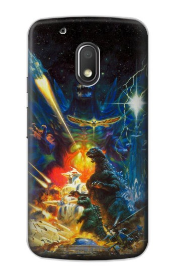 Printed Godzilla VS Space Godzilla Motorola Droid Turbo 2 / X Force Case