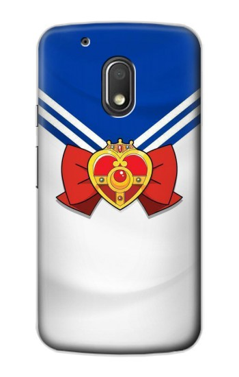 Printed Sailor Moon Brooch and Bow Motorola Droid Turbo 2 / X Force Case