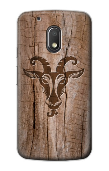 Printed Goat Wood Graphic Printed Motorola Droid Turbo 2 / X Force Case