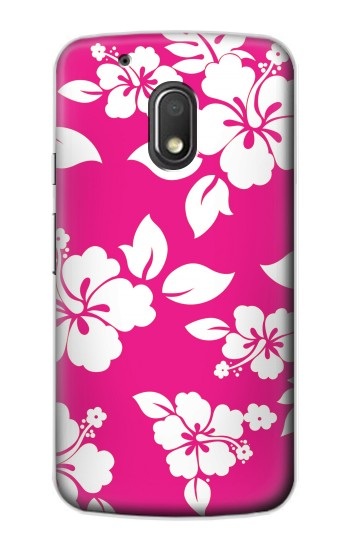 Printed Hawaiian Hibiscus Pink Pattern Motorola Droid Turbo 2 / X Force Case