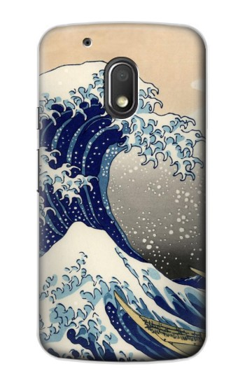 Printed Katsushika Hokusai The Great Wave off Kanagawa Motorola Droid Turbo 2 / X Force Case