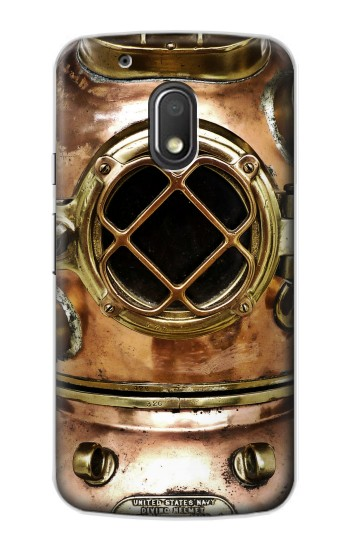 Printed Vintage Deep Sea Diver Helmet Motorola Droid Turbo 2 / X Force Case