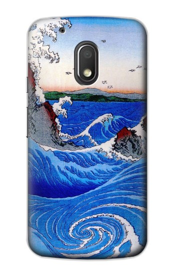 Printed Awa Province Naruto Whirlpools Ando Hiroshige Motorola Droid Turbo 2 / X Force Case