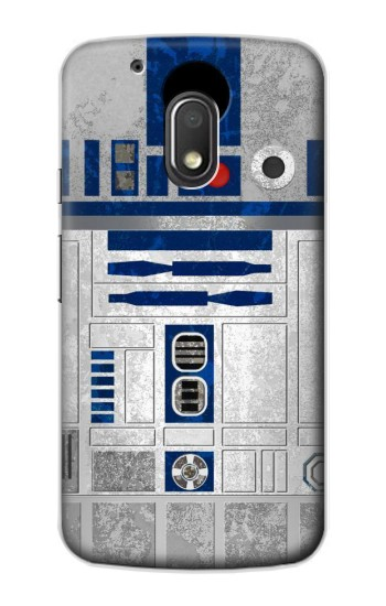 Printed Vintage R2D2 Minimalist Motorola Droid Turbo 2 / X Force Case