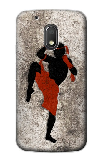Printed Muay Thai Fight Boxing Motorola Droid Turbo 2 / X Force Case
