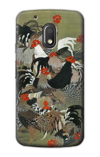 Printed Ito Jakuchu Rooster Motorola Droid Turbo 2 / X Force Case