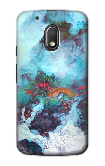 Printed White Dragon Pool Lui Haisu Motorola Droid Turbo 2 / X Force Case