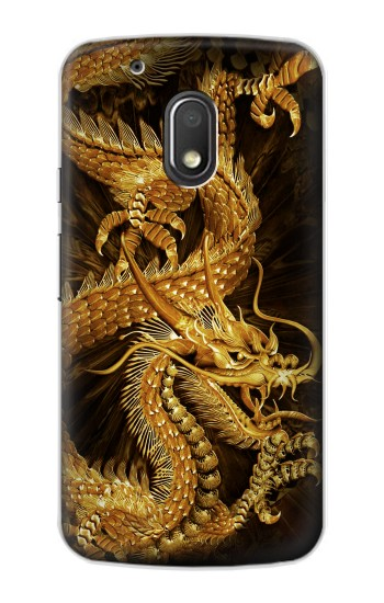 Printed Chinese Gold Dragon Printed Motorola Droid Turbo 2 / X Force Case