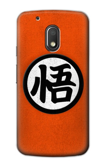 Printed Dragon Ball Z Goku Japan Kanji Symbol Anime Costume Motorola Droid Turbo 2 / X Force Case