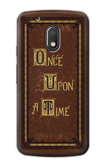 Printed Once Upon a Time Book Cover Motorola Droid Turbo 2 / X Force Case