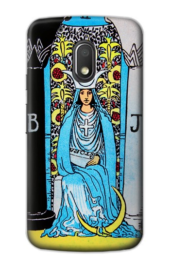 Printed The High Priestess Vintage Tarot Card Motorola Droid Turbo 2 / X Force Case