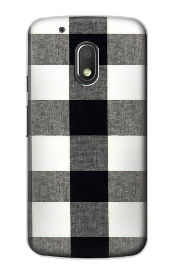 Printed Black and White Buffalo Check Pattern Motorola Droid Turbo 2 / X Force Case