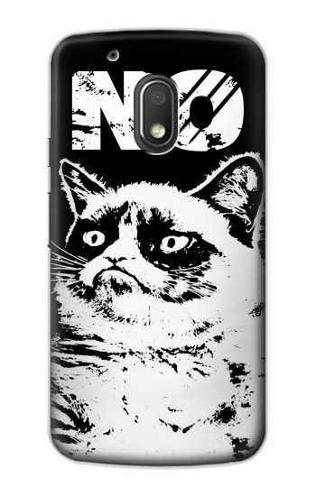 Printed Grumpy Cat No Motorola Droid Turbo 2 / X Force Case