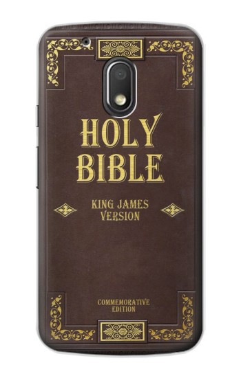 Printed Holy Bible Cover King James Version Motorola Droid Turbo 2 / X Force Case