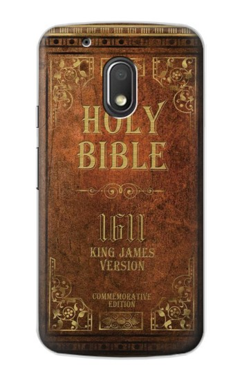 Printed Holy Bible 1611 King James Version Motorola Droid Turbo 2 / X Force Case