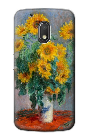 Printed Claude Monet Bouquet of Sunflowers Motorola Droid Turbo 2 / X Force Case