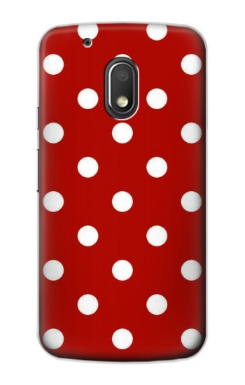 Printed Red Polka Dots Motorola Droid Turbo 2 / X Force Case