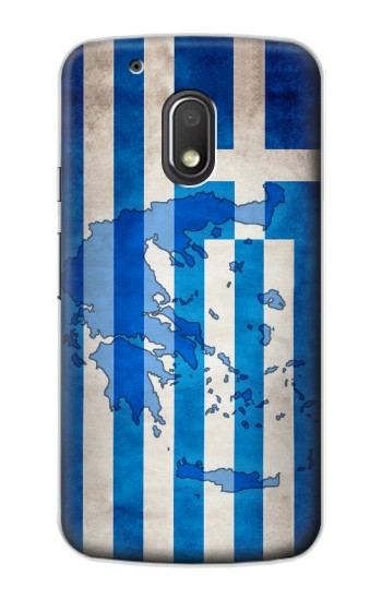 Printed Greece Map Flag Motorola Droid Turbo 2 / X Force Case