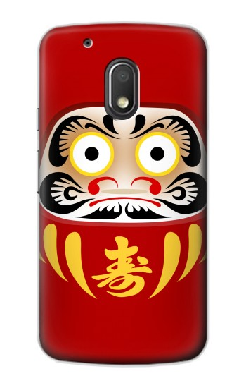 Printed Japan Bodhidharma Daruma Doll Motorola Droid Turbo 2 / X Force Case