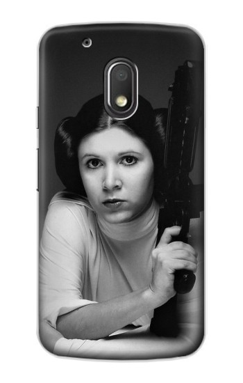 Printed Princess Leia Carrie Fisher Motorola Droid Turbo 2 / X Force Case