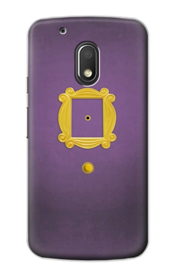 Printed Friends Purple Door Minimalist Motorola Droid Turbo 2 / X Force Case