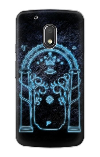 Printed Lord of The Rings Mines of Moria Gate Motorola Droid Turbo 2 / X Force Case