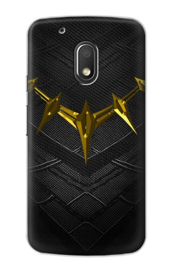 Printed Black Panther Inspired Costume Gold Necklace Motorola Droid Turbo 2 / X Force Case
