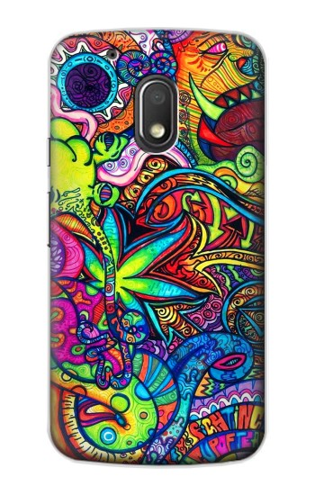 Printed Colorful Art Pattern Motorola Droid Turbo 2 / X Force Case