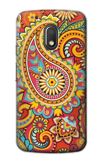 Printed Floral Paisley Pattern Seamless Motorola Droid Turbo 2 / X Force Case