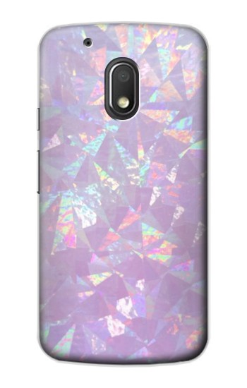 Printed Iridescent Holographic Photo Printed Motorola Droid Turbo 2 / X Force Case