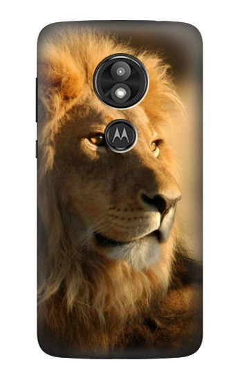 Printed Lion King of Forest Motorola Moto E5 Play Case