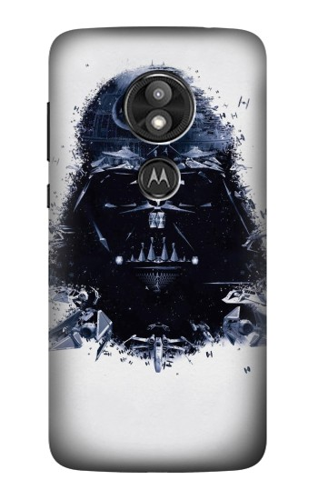 Printed Darth Vader Motorola Moto E5 Play Case