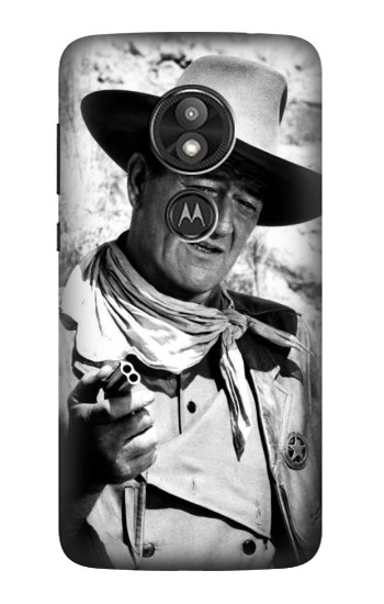 Printed John Wayne The Searchers Motorola Moto E5 Play Case