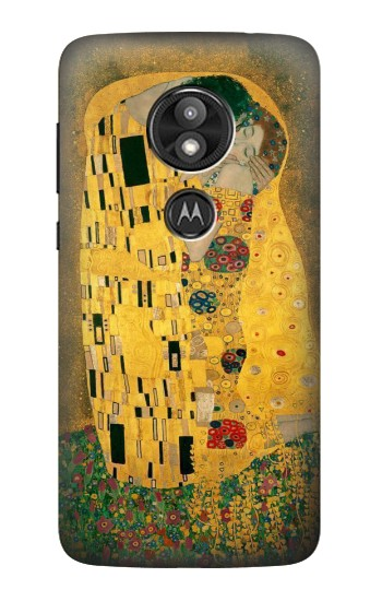 Printed Gustav Klimt The Kiss Motorola Moto E5 Play Case
