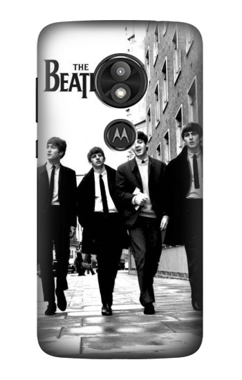 Printed The Beatles in London Motorola Moto E5 Play Case