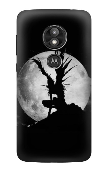 Printed Death Note Ryuk Shinigami Full Moon Motorola Moto E5 Play Case