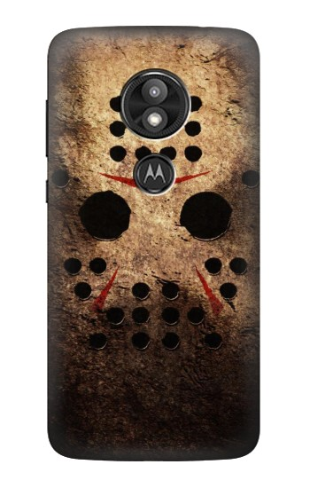 Printed Jason Hockey Mask Motorola Moto E5 Play Case