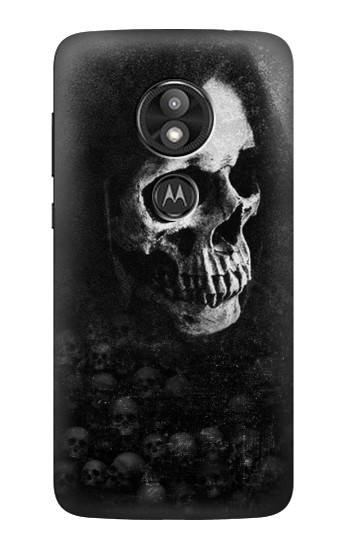 Printed Death Skull Motorola Moto E5 Play Case