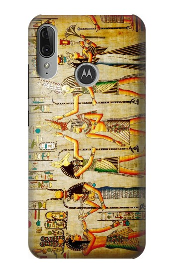 Printed Egypt Wall Art Motorola Moto E6 Plus Case
