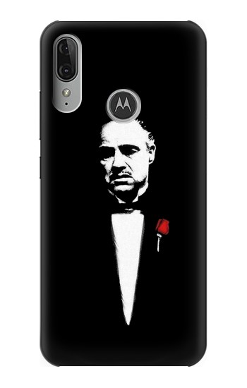 Printed Godfather Motorola Moto E6 Plus Case